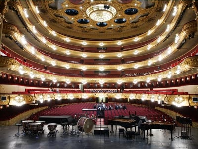View from the stage of the Liceu