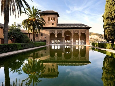 Partal Palace, in the Alhambra, Granada