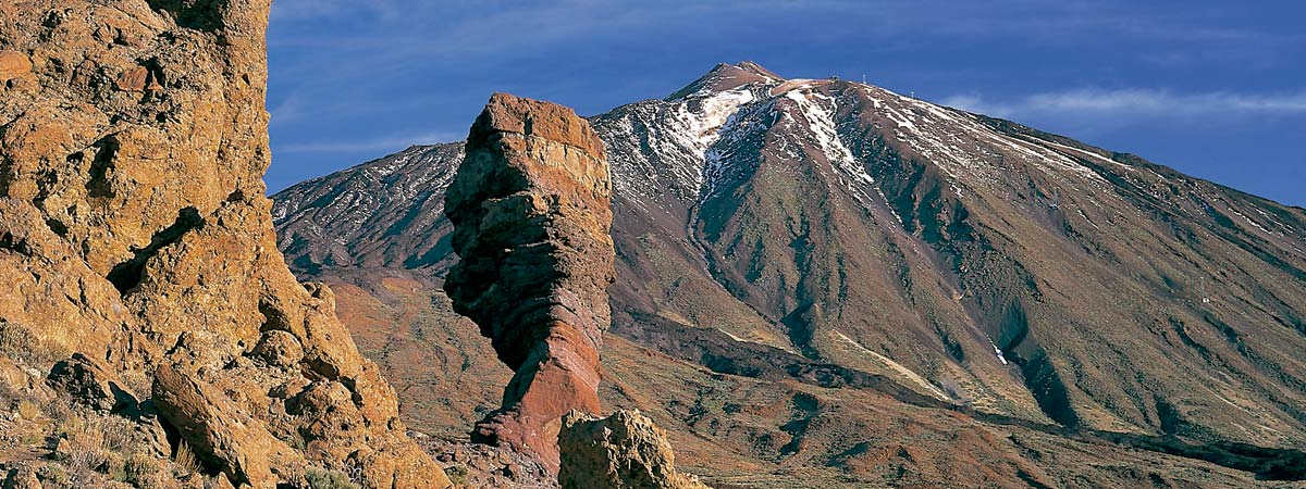 View of the Teide