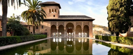 Partal Palace at the Alhambra, Granada