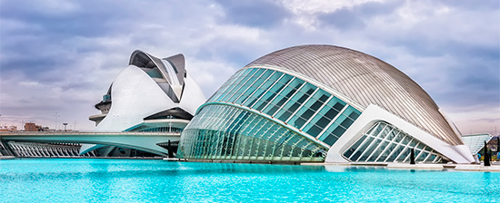 Views of the City of Arts and Sciences, Valencia
