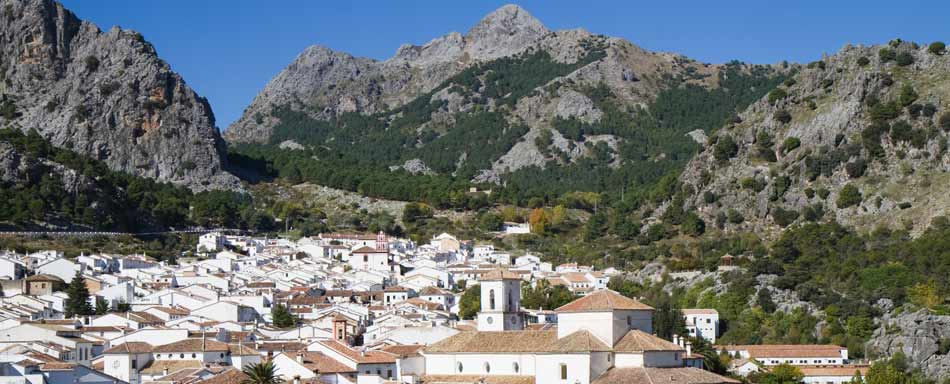 View of Grazalema.