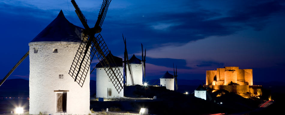 Windmills in Consuegra (Toledo)