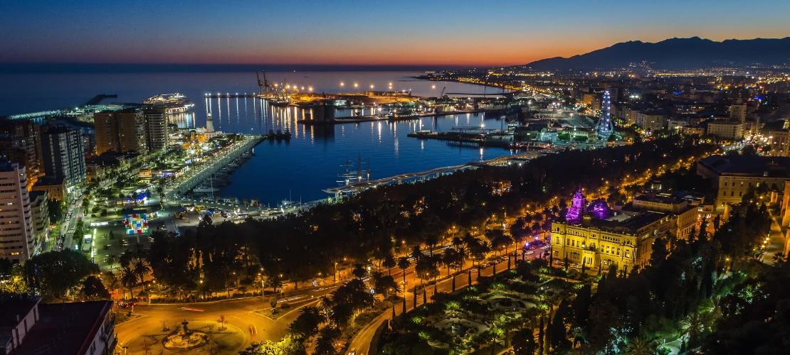Malaga Spagna Cartina.Turismo A Malaga Cosa Vedere Spain Info In Italiano