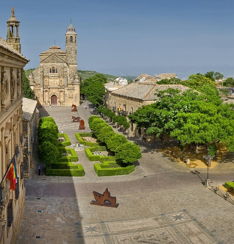 View of Úbeda. World Heritage City. Jaén
