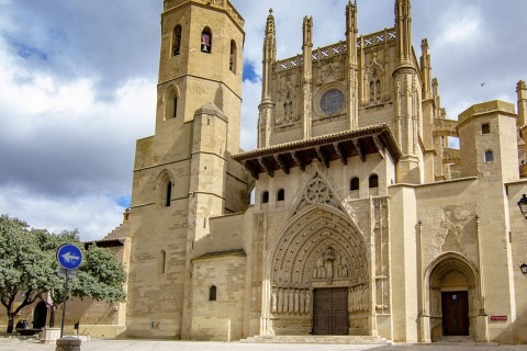 """Cathedral of Santa María, Huesca (Aragon) """
