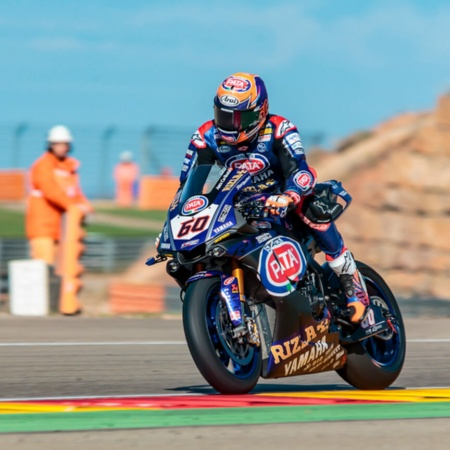 Michael Van der Mark in MotorLand, Aragonien