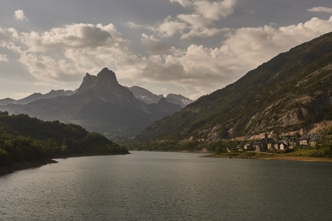 Lake in Sallent de Gállego in Huesca (Aragon)