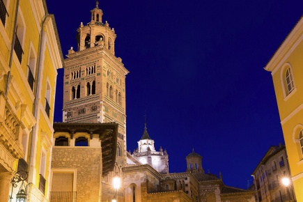 View of Teruel Cathedral (Teruel, Aragon)