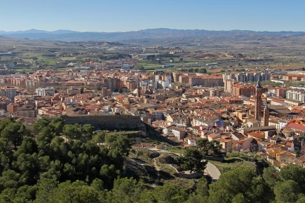 View of Calatayud. Zaragoza