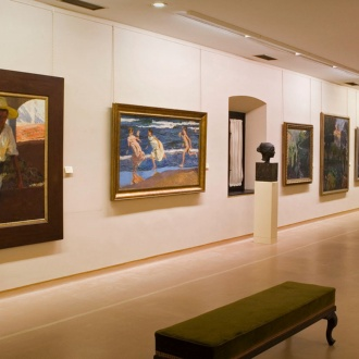 Sala Oviedo at the Asturias Museum of Fine Arts