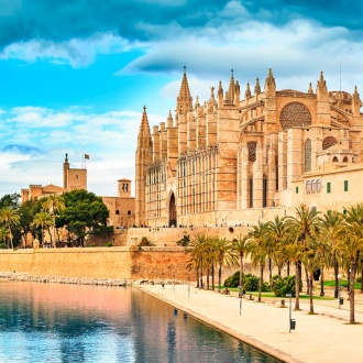 Exterior of the Cathedral of Palma de Mallorca