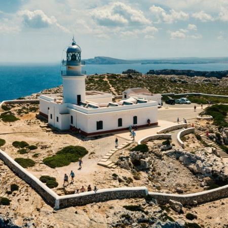 Cavalleria lighthouse, Menorca