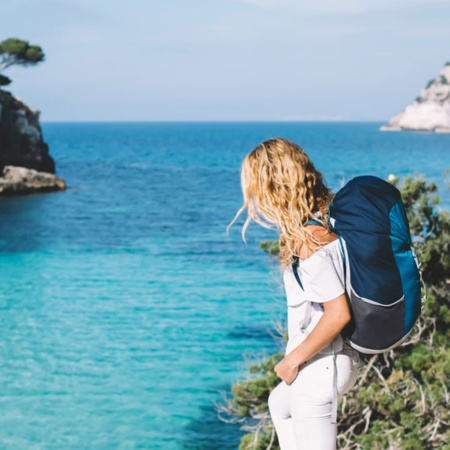 Tourist in the Balearic Islands