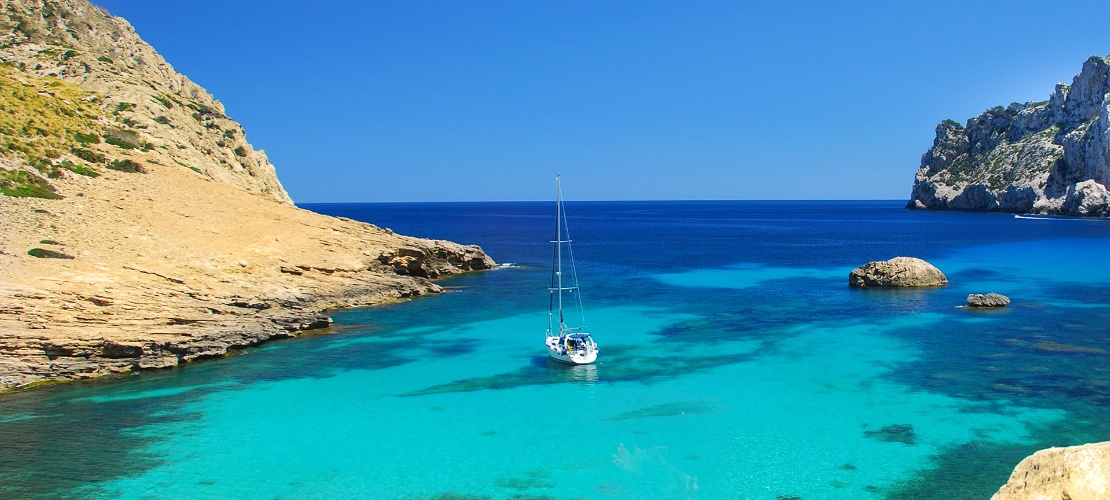 Sailboat in Majorca
