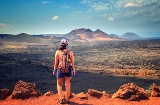 Timanfaya National Park in Lanzarote (Canary Islands)