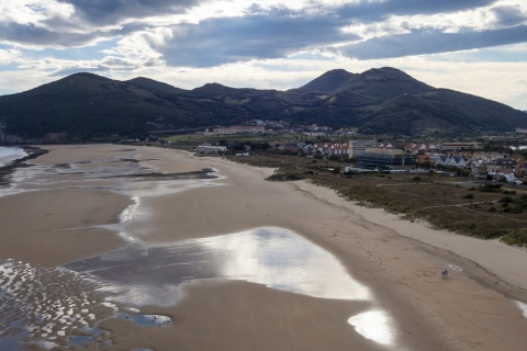"""Panoramic view of Santoña, Cantabria """