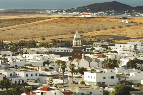 Town of Teguise on the island of Lanzarote (Canary Islands).