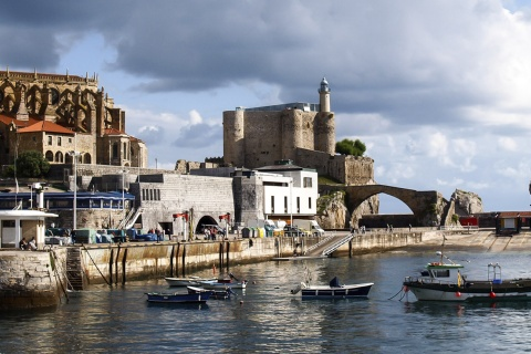 Port of Castro Urdiales, Cantabria