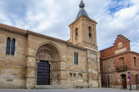 """Church of San Juan del Mercado in Benavente, Zamora (Castilla y Leon) """