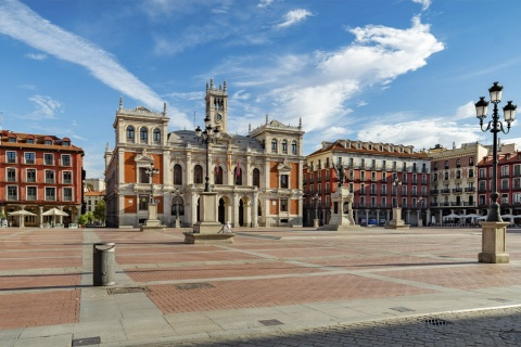 Plaza Mayor square in Valladolid (Castilla y León)