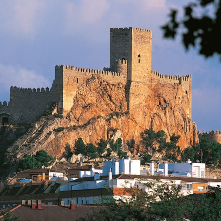 Chinchilla Castle. Albacete