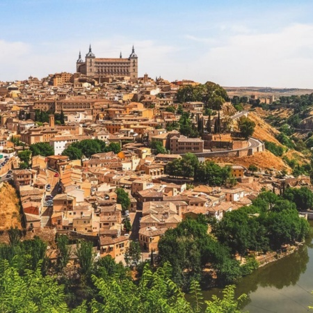 General view of Toledo (Castilla-La Mancha)