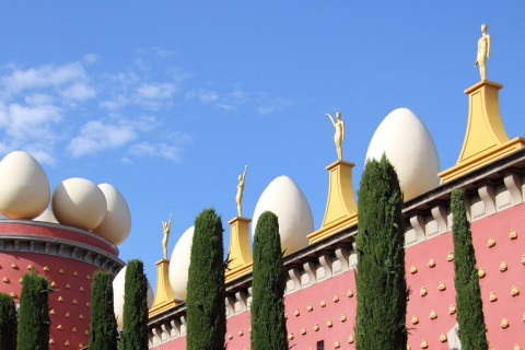 Salvador Dalí Museum in Figueres (Girona, Catalonia)