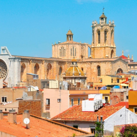Tarragona cathedral from the roof