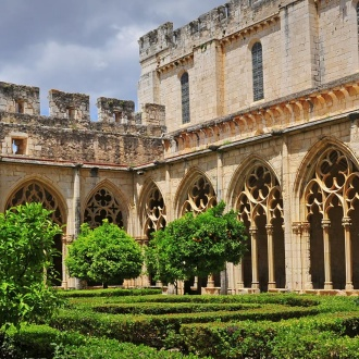 Gardens of the Royal Monastery of Santes Creus