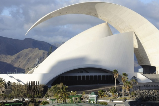 Santa Cruz de Tenerife Auditorium where the Canary Islands Music Festival is held