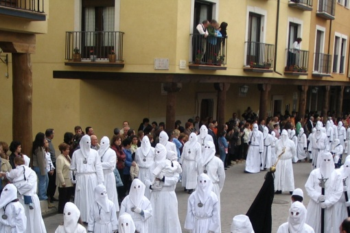 Parade of the Guilds. Easter Week in Medina de Rioseco