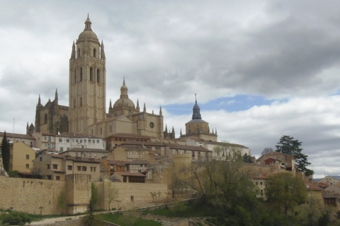 One of the activities during the Hay Festival in Segovia