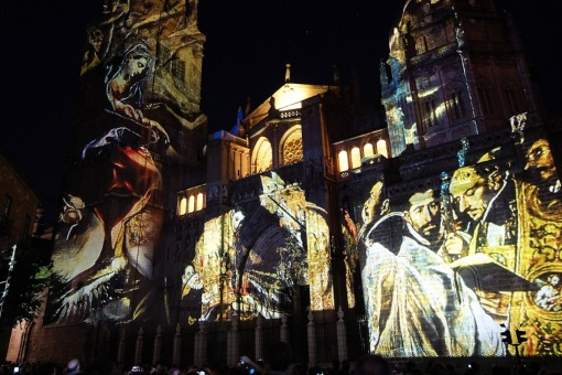 Videomapping at the Toledo Lux Greco Festival