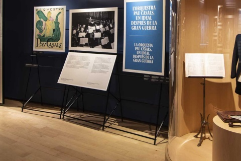 Exhibition: Orchestra Pau Casals. 100 years