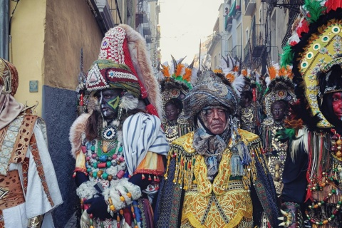 Festival of Moors and Christians in Villajoyosa