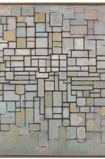 Piet Mondrian. Composition no. II, 1913. Oil on canvas. 88 x 115 cm. Kröller-Müller Museum, Otterloo, Netherlands