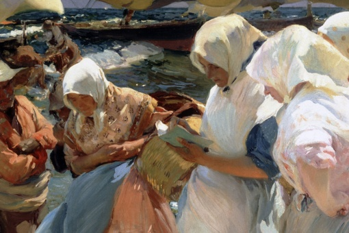 Joaquín Sorolla, Valencian Fishwives, 1903. Regional Government of Valencia