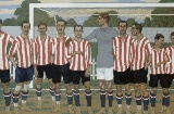 José Arrue. Time do Athletic Club, 1915 - Coleção Athletic Club Museoa-ren Bilsduma.