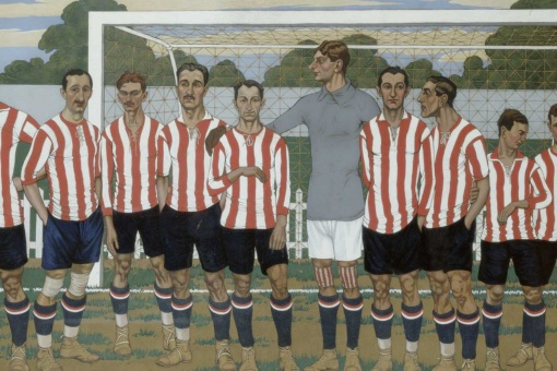Хосе Арруэ. Команда Athletic Club, 1915 год. Коллекция Athletic Club Museoa-ren Bilsduma.