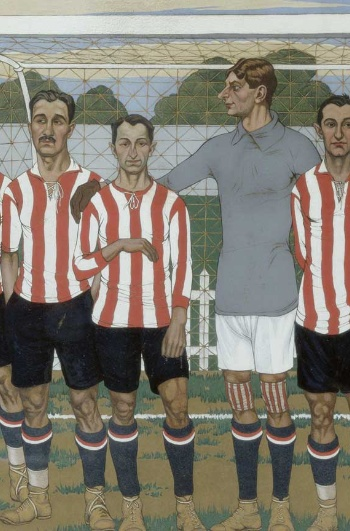 José Arrue. Equipo del Athletic Club, 1915- Athletic Club Collection Museoa-ren Bilsduma.