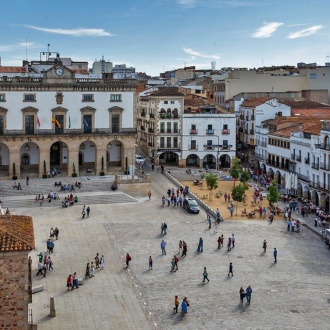 Plaza Mayor de Cáceres