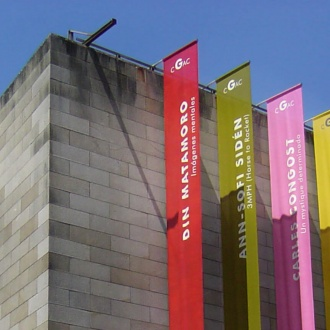Exterior of the Galician Contemporary Art Centre, Santiago de Compostela