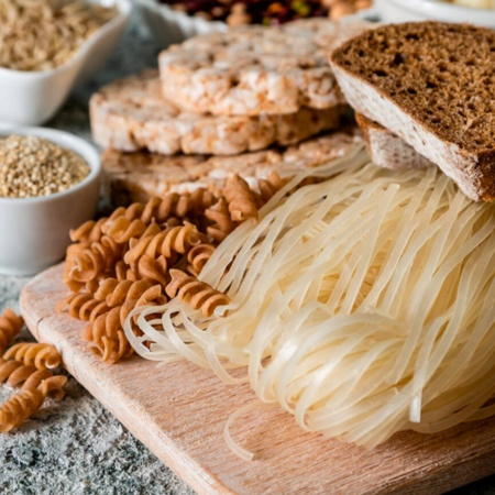 Gluten-free food for people with coeliac disease