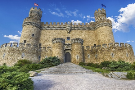 Manzanares El Real Castle (Region of Madrid)