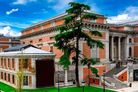 View of the Prado Museum