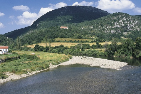 River Irati in Navarre