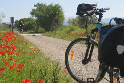 Greenways to follow on bicycle