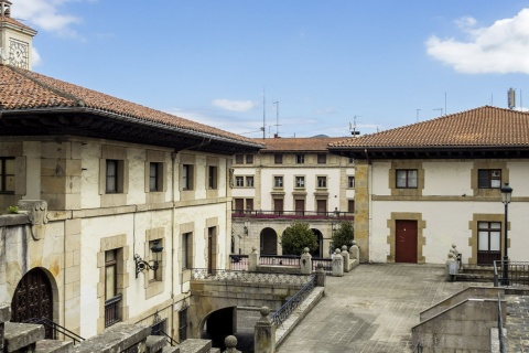 Old town in Gernika, Bizkaia (the Basque Country)