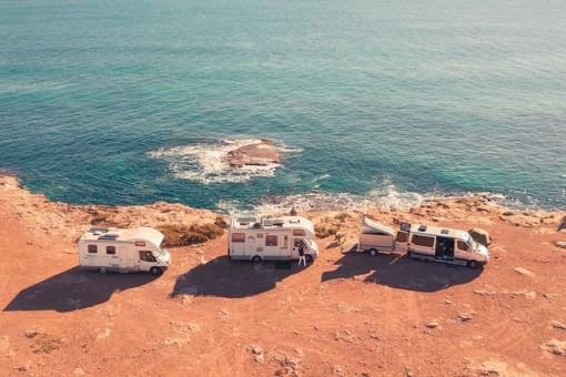 Caravans with views of the sea in Torrevieja, Alicante